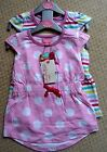 Brand new baby girl 2 for 1 soft casual pink summer sun dress super cute
