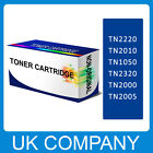 Multipack Black TONER CARTRIDGE FOR BROTHER TN2220 2000 2005 TN1050 TN2320 etc.