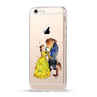 Original Beauty And The Beast Ornament Hard PC Slim Cover Case For iPhone Series