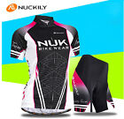 Women Cycling Bike Short Sleeve Clothing Set Bicycle Wear Suit Jersey Shorts Kit