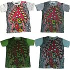 Mens Mirror T Shirt Mushroom Boho Purple Dope Trippy Hippy Rare Cotton M
