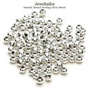 50 STERLING SILVER 925 SMOOTH ROUND SPACER BEADS 2mm QUALITY JEWELLERY MAKING
