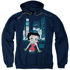 Betty Boop in TIMES SQUARE New York City Licensed Sweatshirt Hoodie $49.94 USD on eBay
