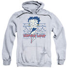 Betty Boop as ZOMBIE PINUP Licensed Sweatshirt Hoodie $41.71 USD on eBay
