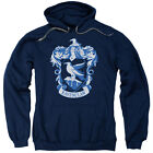 Harry Potter RAVENCLAW CREST Licensed Adult Sweatshirt Hoodie