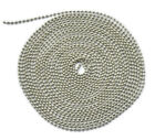 100m 109yd  Stainless Steel Bead Necklace Ball Chain Cord 2.4mm 3.2mm 4.5mm