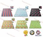 Folding Blanket Camping Outdoor Beach Festival Waterproof Backing Picnic Rug Mat