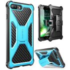 iPhone 7 Plus and 8 Plus Case i-Blason Transformer Kickstand Belt Clip