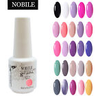 NOBILE UV Gel Nail Polish Soak Off Nail Polish UV LED Gel Nail Art 8ml 76 Colors