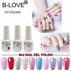 NOBILE 76 Colors 8ml Soak off UV Gel Nail Polish Nail Art Manicure UV Gel Polish