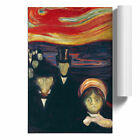 Poster Various Sizes Edvard Munch  Anxiety