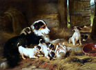 Foster Mother Painting by Walter Hunt Art Reproduction