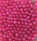 30 x 6mm Dyed Jade beads 20 colours