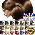 """Loop Micro Ring Beads Link 100% Remy Human Hair Extensions 16""""18""""20""""22""""24""""26"""" UK"""