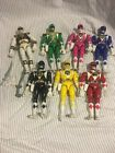 Mighty Morphin Power Rangers Lot Of 8 Inch Figures. 7 Rangers And Some Weapons!