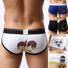 Men's Underwear Cartoon Cotton Mouth 2017 US Fashion Shorts Boxer Briefs