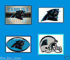 CAROLINA PANTHERS NFL LICENSED FOOTBALL GLOSSY DECAL STICKER YOU PICK