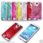 Hot Sparkle Stars Liquid Quicksand Clear Phone Case Cover For Samsung Galaxy S4