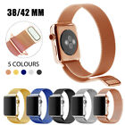 Replacement Stainless Steel Strap Band noble for Apple Watch iWatch 38/42mm HOT