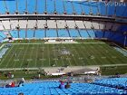 2 tickets Carolina Panthers vs Houston Texans 8/12 midfield on 40 yard line!