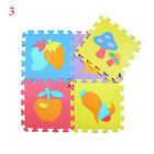 10pcs EVA Foam baby Educational Rug Puzzle Mat Baby Play Mats Gym Puzzle Carpet