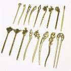 Bronze Vintage Hair Sticks Alloy Hairpins Hair Clip Traditional Carved For Women