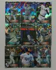 2016 TOPPS CHROME BLACK REFRACTOR - COMPLETE YOUR SET.