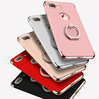 For iPhone 8 6S 7 Plus Ring Case Luxury Ultra Thin Hybrid Protective Hard Cover