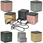 Kyпить KitSound CUBE Wired Mini Rechargeable Portable Pocket Speakers - Multi Link Unit на еВаy.соm