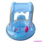 Inflatable Baby Crab Float Seat Boat Ring Car Sunshade Swim Pool Water Toy CG