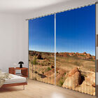 The outdoors 3d digital Blackout curtains