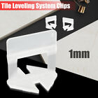 200-800x Clips Tile Leveling System Kit 1.0mm Tile Spacer Tiling Tool Wall Floor