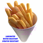 Fast food Chip Cone Quality Catering sticker