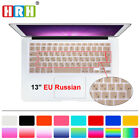 Russian Silicone EU Keyboard Cover Skin Protector F Old Macbook Pro Air 13 15 17