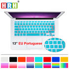 Portuguese Silicone EU/UK Keyboard Skin Cover For Old MacBook Pro Air 13 15 17