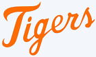 Detroit Tigers Wordmark Script Decal Sticker - You Pick Color & Size on Ebay