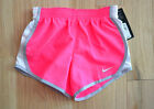 New $25 Authentic NIKE Dry-Fit Technology Girl's Pink Workout Shorts (4,5,6 Yrs)