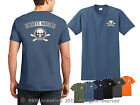 Kayaking T-shirt - white water sport kayak shirt river kayaker skull logo shirt