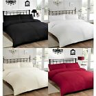 NEW LUXURY PINTUCK POLYCOTTON DUVET QUILT COVER BEDDING SET