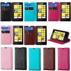 SALE! Nokia Lumia 521 Wallet and Tuff Protector Stand Cover Case