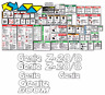 Genie Z20/8 Boomlift Decal Kit (Safety Only) SN Prior to 134