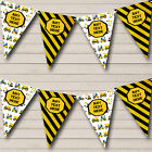 Construction Digger Tractor Children's Birthday Party Bunting Banner