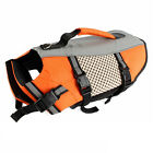 Hot Dog Life Jacket Pet Swimming Outdoor Mesh Vest W/Handle