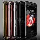 Hybrid 360 Degree Hard Ultra Thin Case Tempered Glass Cover For iPhone 6 7 Plus