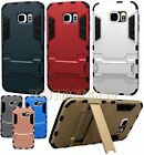 fits samsung galaxy S6 case skin w/ stand light blue gold pink silver gray red