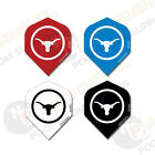 LONGHORN Dart Board Flights Quality Flights for Darts Set of 3 Choose Colour