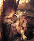 Herbert Draper's Greek Masterpiece, the Lament of Icarus (mythology, English)