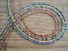 Brown Blue Pink Green Silver Beads Beaded Eyeglass Chain Holder Color Choice