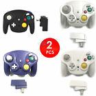 2.4G Wireless Game Controller+Receiver Adapter for Nintendo GameCube NGC/Wii /GC