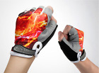 New Fashion Cycling Bike Bicycle Breathable Half Finger Bicycle Riding Gloves